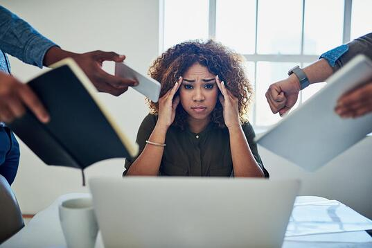 stressed-woman-at-work
